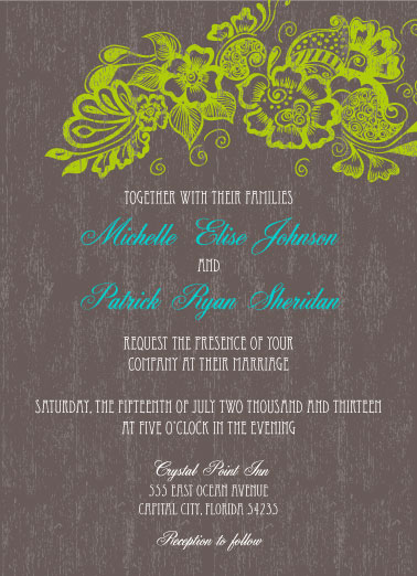 wedding invitations perfectly invited wedding blog