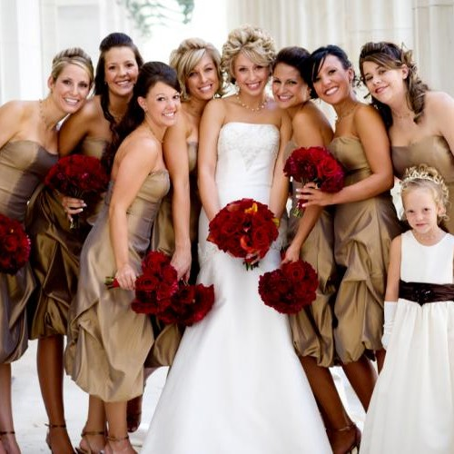 Bridal Party | Perfectly Invited Wedding Blog