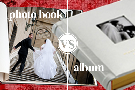 photo book or wedding album